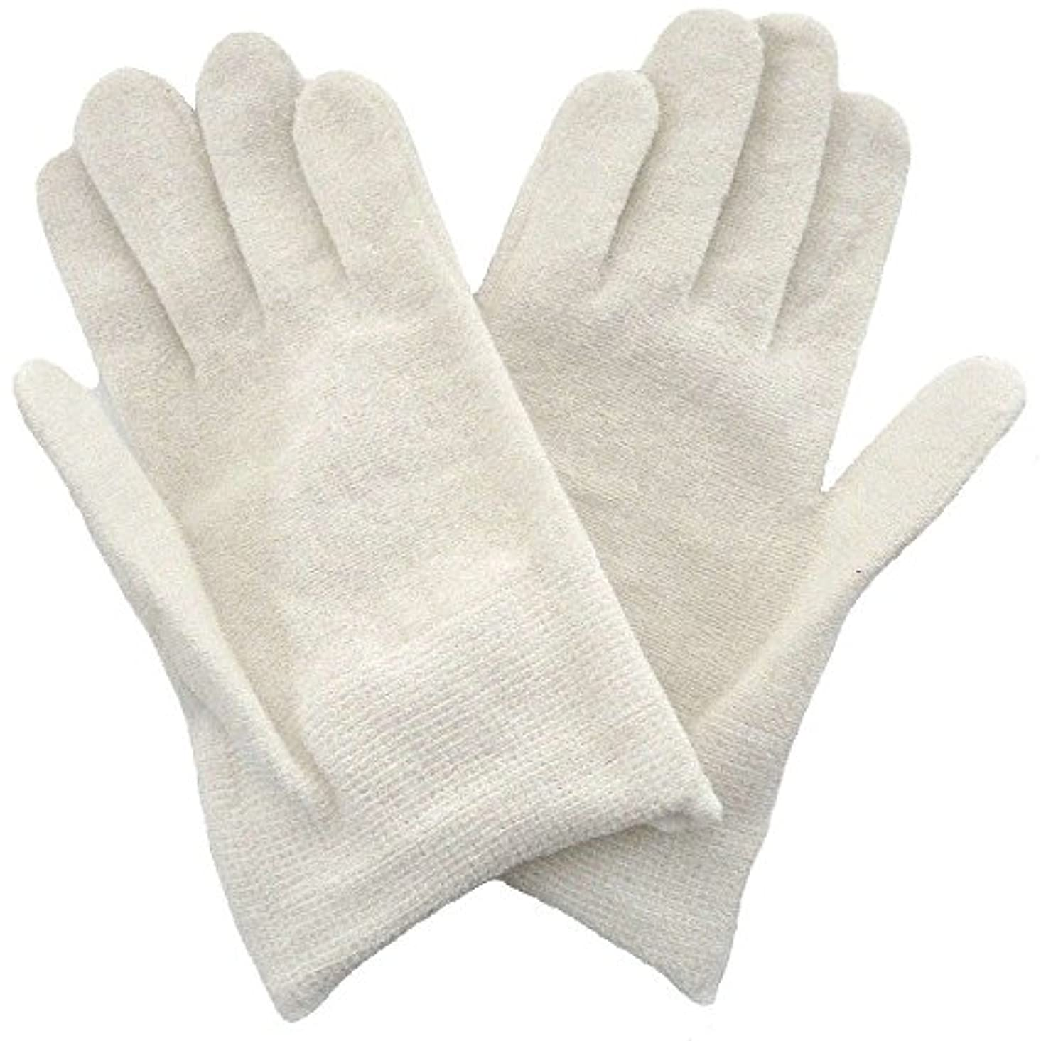 解説スクラブ希望に満ちた【アトピー】【水疱瘡】【皮膚炎】 ナノミックス おやすみ手袋:キッズ用 ホワイト