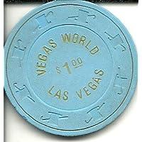 $ 1 Vegas世界ラスベガスカジノチップヴィンテージ