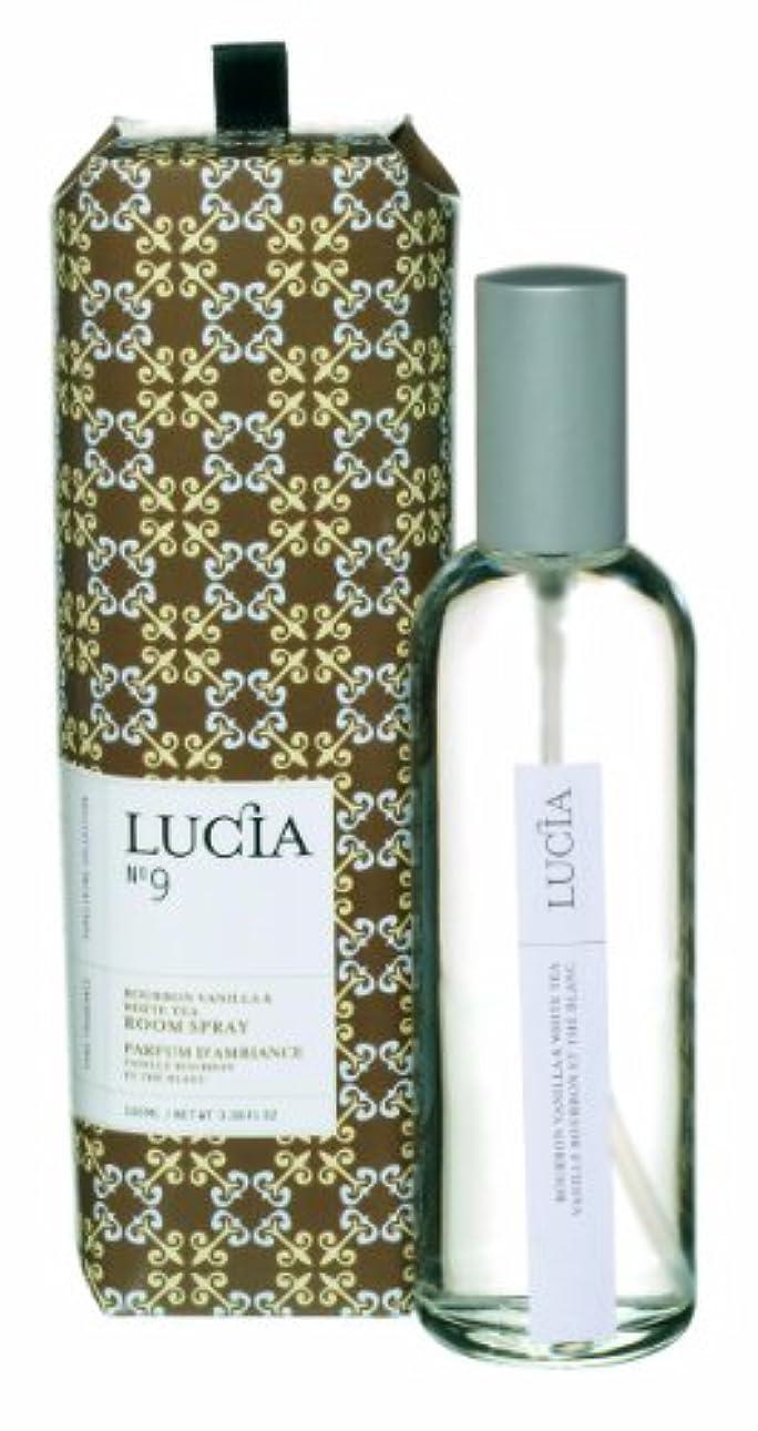 解釈的寛解にはまってLUCIA Collection ルームスプレー No.9 バーボンバニラ&ホワイトティ Bourbon Vanilla&White Tea Room Spray ルシア コレクション ピュアリビング Pureliving