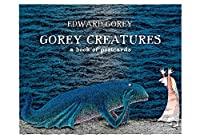 Gorey Creatures Book of Postcards Aa572