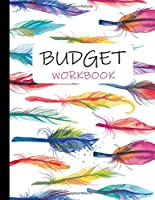 """Budget Workbook: Weekly and Monthly Budgeting Planner for Personal Finance management : Expense Tracker / Bill Organizer : large size 8.5 x 11 """""""
