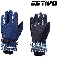 ESTIVO エスティボ CURVY GLOVES (N)ネイビー EVA8716 スノーボード レディース