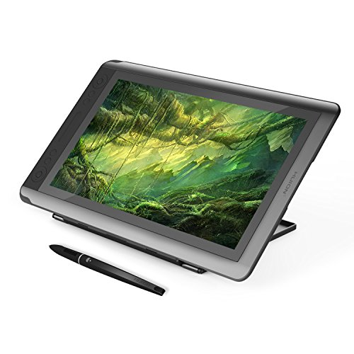 HUION 15.6 inch touch feature LCD pen tablet full HD drawing tablet with screen KAMVAS GT-156HD