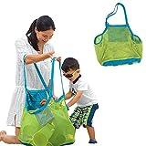 アディダス 水着 Applied Enduring Children sand away beach mesh bag Children Beach Toys Clothes Towel Bag baby toy collection nappy