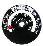 Cannelle マグネット式 ストーブ温度計 薪ストーブ ピザ窯 0度~500度まで計測