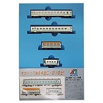 マイクロエース Nゲージ JR北海道 トロッコ列車 初代「ノロッコ」号 4両セット A1474 鉄道模型 客車