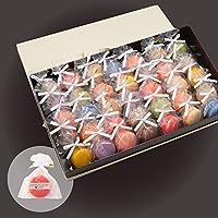 リボン付 マカロン 35個入 手提げ紙袋付き 個包装 天使がくれたマカロン お菓子 プチギフト ギフト