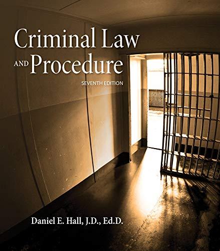 Download Criminal Law and Procedure (Mindtap Course List) 1285448812