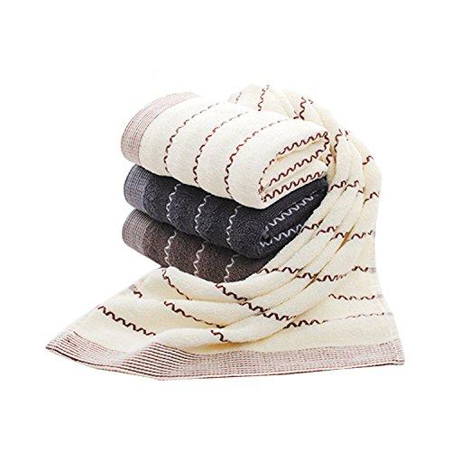 [해외]Dorcy 페이스 타올면 100 % 타올 4 장 세트 부드러운 74cm * 34cm/Dorcy Face Towel 100% Cotton 4 Towel Set Soft 74 cm * 34 cm