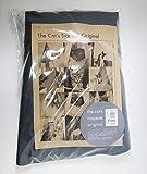 【簡易包装版】キャット・トラピーズ・オリジナル グレー 3ピロータイプ クッション無し 吊るすタイプのキャットタワー