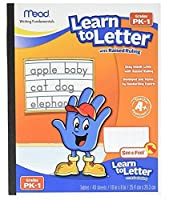 Learn To Letter See and Feel Raised Ruling 40 Shts/BKAST Sold as 1 Each [並行輸入品]