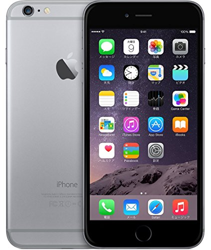Apple iPhone 6 Plus 128GB スペースグレイ 【softbank 白ロム】MGAC2J