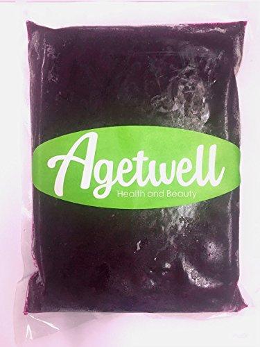 【無糖】Agetwell 冷凍ピタヤピューレ 業務用 1kg×10個セット