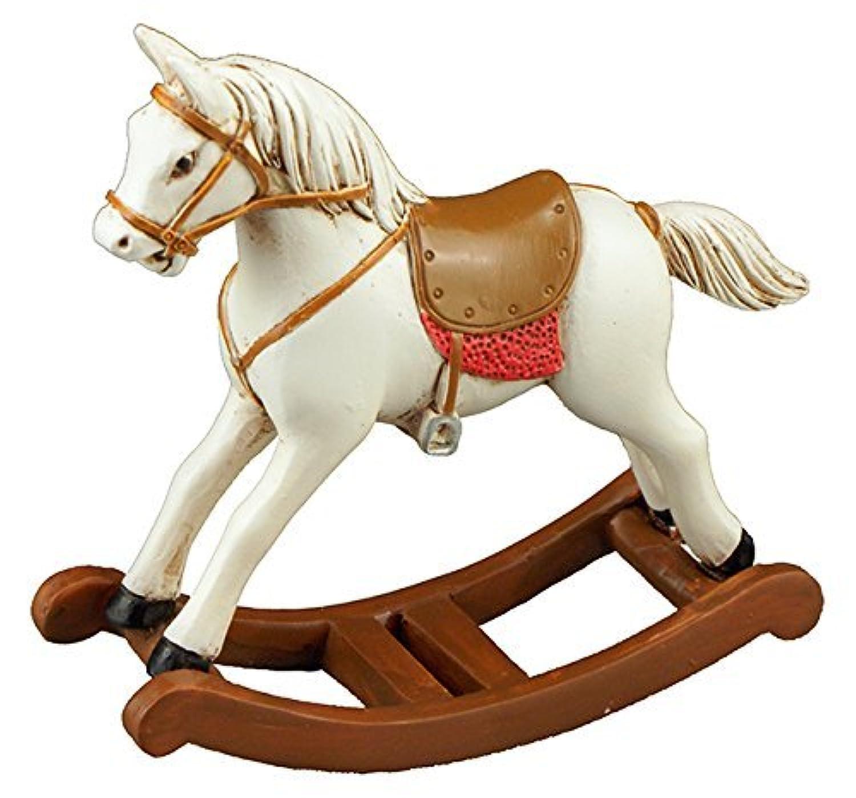 【ロイターポーセリン】【ミニチュア】 ロッキングホース 木馬 RP1759-0