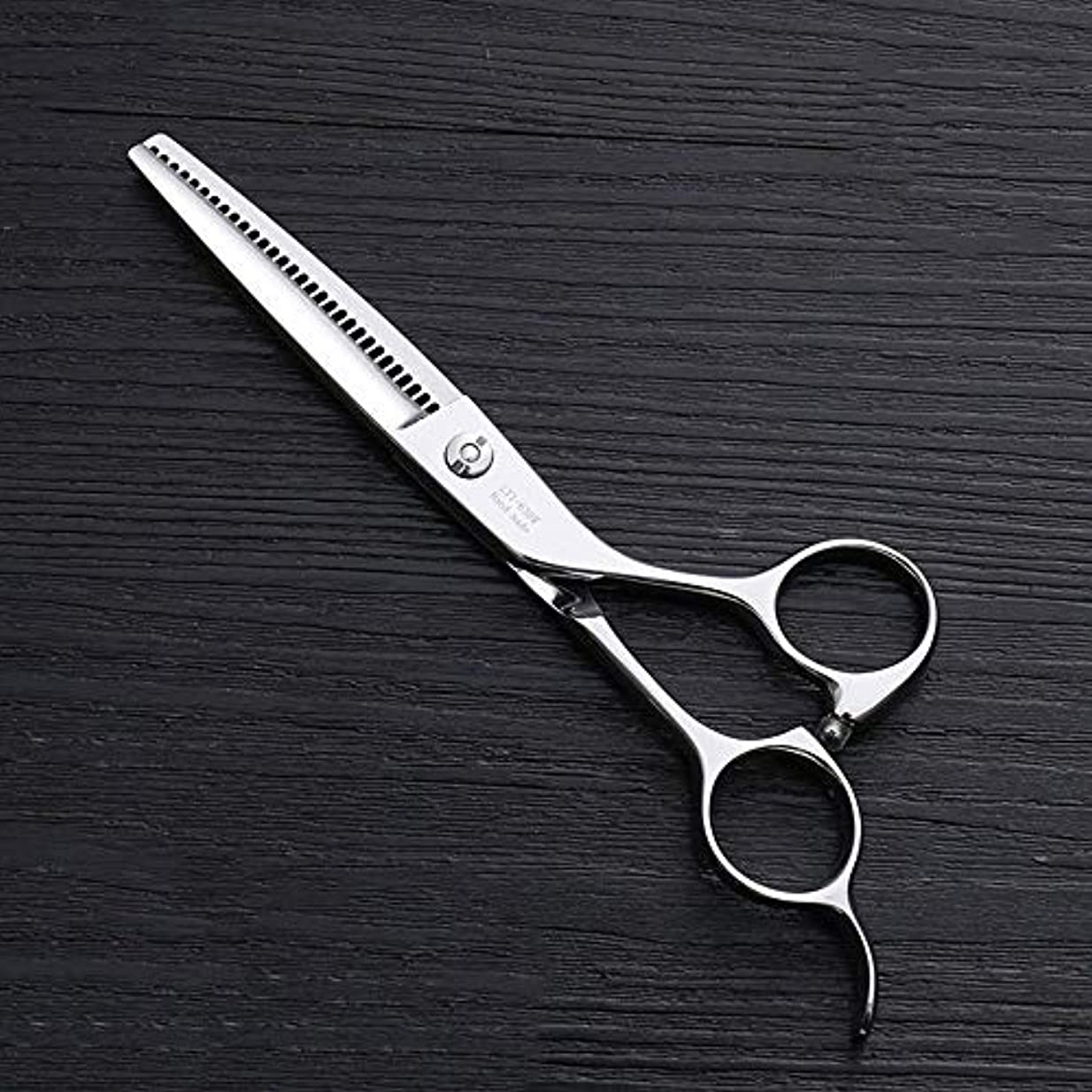 ワゴンご近所周り6インチ理髪はさみ、30歯理髪はさみ、ステンレス鋼理髪ツール ヘアケア (色 : Silver)