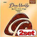 【2セット】 Dean Markley 2004 Vintage Bronze Medium Light(12-54) ディーンマークレイ アコースティックギター弦 【国内正規品】