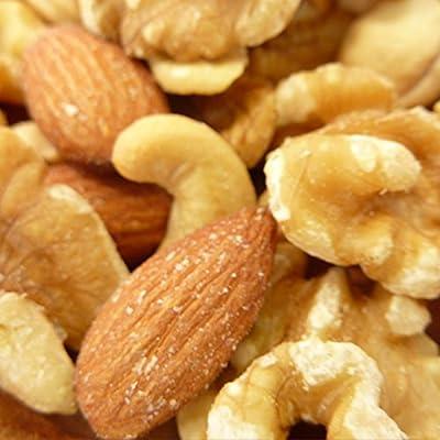 無添加ミックスナッツ 1kg (くるみ,アーモンド,カシューナッツ) 食塩、オイル使用無し