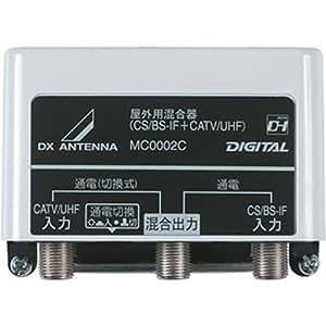 DXアンテナ CS/BS-IF+CATV/UHF混合器 箱入 MC0002C