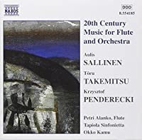 20th Century Music for Flute & Orchestra by SALLINEN (1999-06-22)