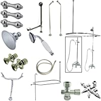 Kingston Brass CCK3181AL Clawfoot Tub Package with 22 in. Supply Lines