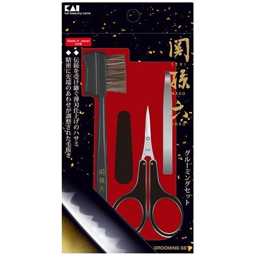 フィードバック焼くウェブ関孫六 グルーミングセット HC3534