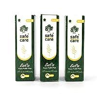 Safe Care eucaロール上(ユーカリオイル/cajuputオイル)、10 ml(3パック)