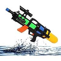 大型水狙撃ライフル、33フィート長距離高圧ポンプアクションスプレーガン強力な子供大人の圧力銃おもちゃ夏の水パーティープールビーチのおもちゃ ( Color : A )