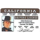 Clint Eastwood Fun Fake ID License by Signs 4 Fun [並行輸入品]