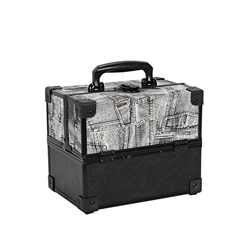 観察状態国旗{ツネユウ}コスメボックス メイク 収納 コフレ メイクボックス バニティケース バニティボックス 化粧品 コンパクト ドレッサー メイク BOX コスメ 化粧ボックス 化粧入れ 化粧箱 おしゃれ かわいい ギフト