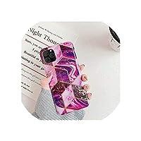 メッキ幾何学的な大理石のケースfor iPhone 7 XR 11プロマックスケースfor iPhone X XSマックス8 7 6 6 sプラス電話ケースシリコンソフトカバー,For i6Plus i6SPlus,HJ5