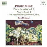 プロコフィエフ:ピアノ・ソナタ第1番, 第3番, 第4番