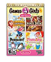 Games 4 Girls (Cooking Academy / Nancy Drew: The Haunted Carousel / Penguins! / Fashion Apprentice) (輸入版)