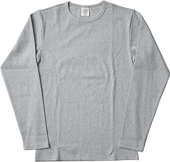 AVIREX デイリー クルーネック ロングスリーブ Tシャツ #6153481(旧品番#617395)Sグレー