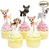 JeVenis ドッグケーキデコレーション 子供の誕生日ケーキの装飾 漫画の誕生日ケーキの装飾 かわいい誕生日ケーキの装飾