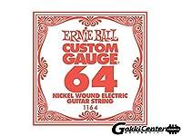 【正規品】 ERNIE BALL 1164 ギター弦 バラ弦 (.064) NICKEL WOUND STRING SINGLE ニッケル・ワウンド・ストリング