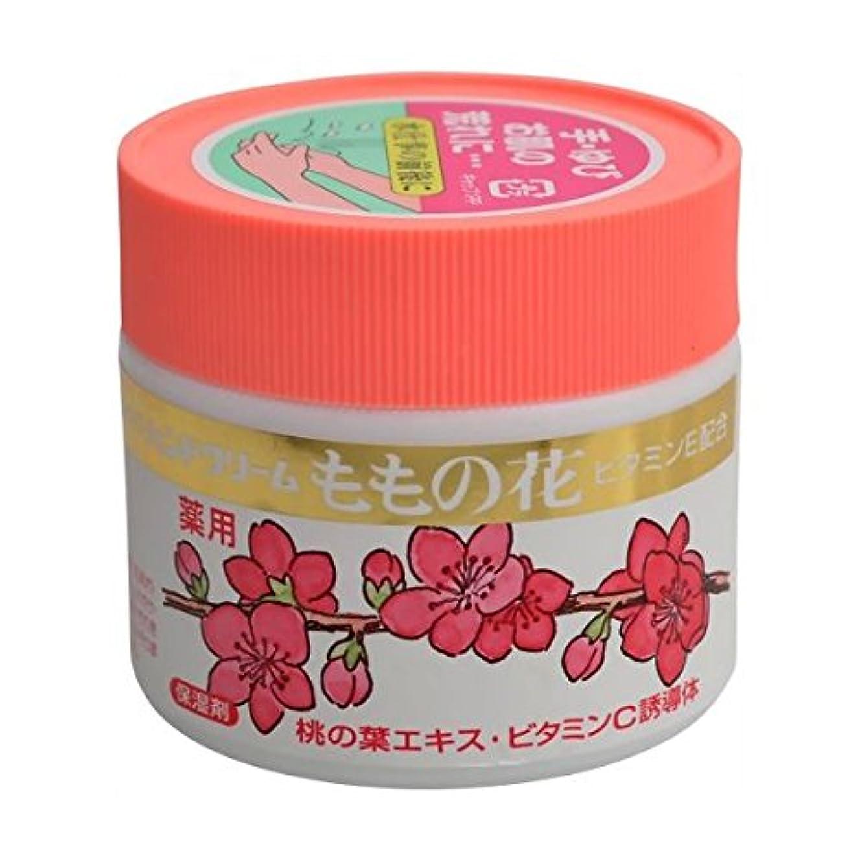 横向きメナジェリー伝染性【オリヂナル】ももの花薬用ハンドクリーム(医薬部外品) 70g ×3個セット