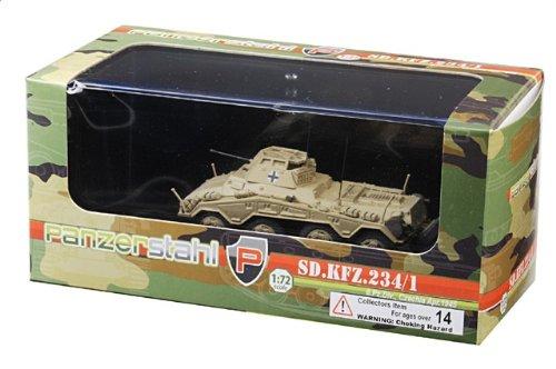 1:72 装甲車stahl ディスプレイ アーマー 88011 Bussing-NAG Sd.Kfz.234/1 プーマ ディスプレイ モデル ドイツ軍 6.PzDiv Tschenchien Cze