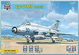 モデルズビット 1/72 ソ連空軍 スホーイSu-17M3初期型フィッター戦闘爆撃機 プラモデル MVT7244