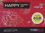 【mobifone】ベトナムプリペイドSIM 15日間 通話付き! 4G/3Gデータ通信6GB