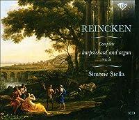 Johann Adam Reincken Musique pour clavecin et pour orgue (Intégrale)