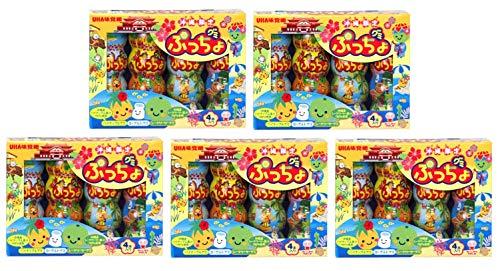 グミぷっちょ (パイナップル&ヨーグルト/シークヮーサー&ヨーグルト4本入) 5個セット | 沖縄旅行 | 沖縄土産 | 沖縄お土産