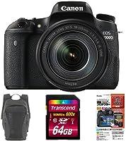 Canon デジタル一眼レフ EOS 8000D レンズキット EF-S18-135mm IS USM + Lowepro フォト ハッチ バック 16L AW スレートグレー + 他2点セット