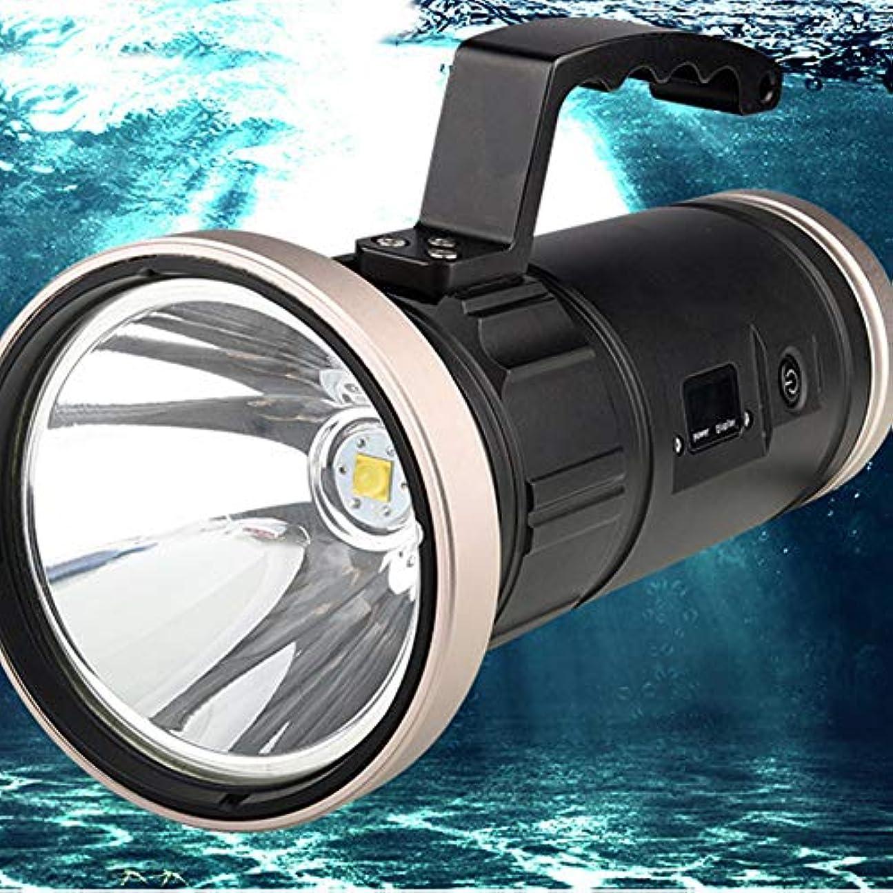 気分が良い中に毎年夜釣り用ライト 釣りランプ ハイパワーズームサーチライト 充電グレア長距離懐中電灯 防水 サイドライト