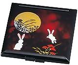 中谷兄弟商会 山中漆器 コンパクトミラー 別甲 月うさぎ33-0408