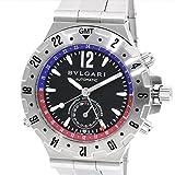 [ブルガリ]BVLGARI 腕時計 ディアゴノプロフェッショナルGMT自動巻き GMT40S メンズ 中古