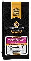 Christopher Bean Coffee Flavored Ground Coffee, Hawaiian Chocolate Macadamia Nut, 12 Ounce