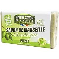 メートル・サボン・ド・マルセイユ サボン・ド・マルセイユ オリーブ 100g×5