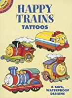 Happy Trains Tattoos (Dover Tattoos)