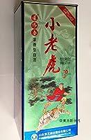 中国白酒 景芝 景陽春 小老虎(濃香型白酒) 52度 480ml、『水滸伝』の登場人物、武松の虎退治が描かれています♪