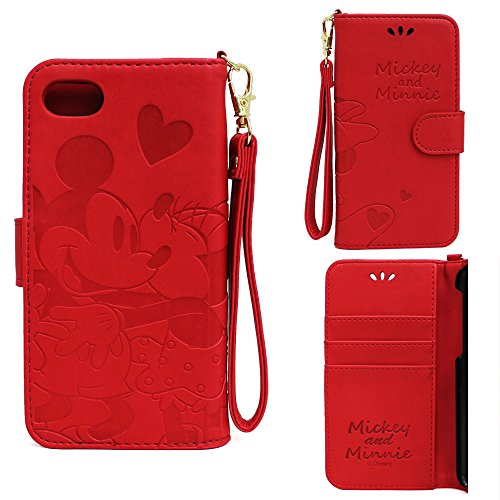 iphone8 iphone7 ケース ディズニー 手帳 か...